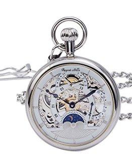 Regent Hills Vintage Silver Pocket Watch