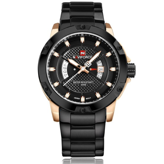 NAVIFORCE Watches Men Brand Luxury Full Steel Army Military Watches