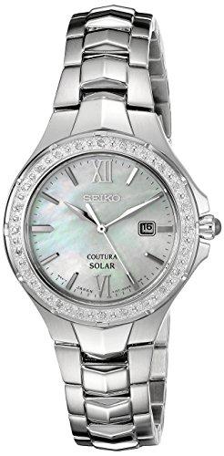 Seiko Women's Coutura Analog Display Japanese Quartz Silver Watch