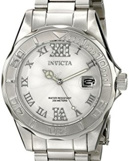 Invicta Women's Pro Diver Analog Silver Watch