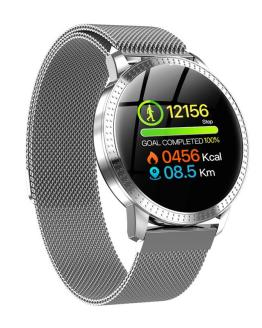 Smart Watch Waterproof Tempered Glass Activity Tracker Exercise Heart Rate
