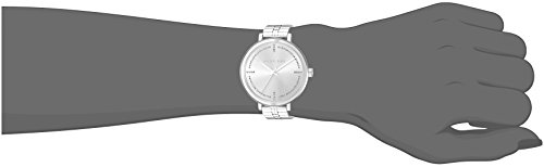 Michael Kors Women's Bridgette Watch Analog Michael Kors Women's Bridgette Watch Analog-Quartz Stainless-Steel Strap, Silver, 14 (Model: MK3791