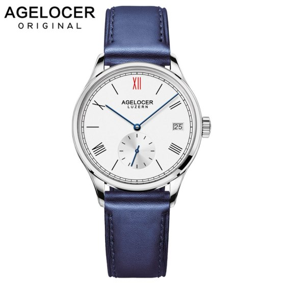 Agelocer brand women bracelet watch France leather ladies wrist watch