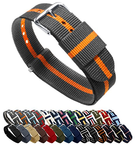 BARTON Watch Bands - Choice of Color, Length & Width