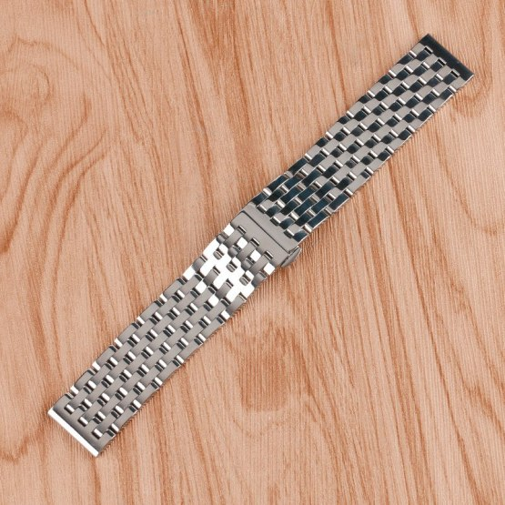 20mm 22mm Adjustable Stainless Steel Watch Band for Men Women Watches