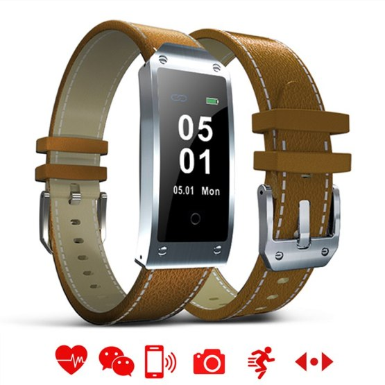 Rectangle LED Touch Smart Watch Men Fashion Multifunction Bluetooth