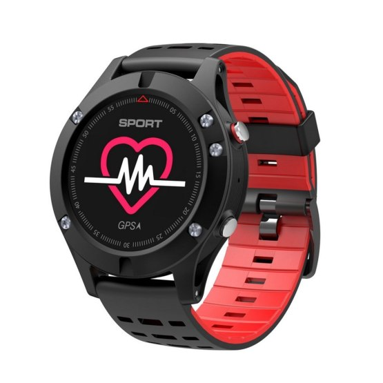 Men F5 GPS Smart Watch Altimeter Thermometer Bluetooth