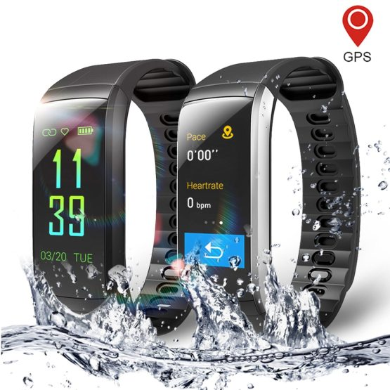Fitness Smart Watch for Men and Women Heart Rate Monitor Waterproof