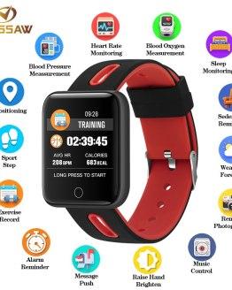 BINSSAW 2018 New Smart Watch Men Bluetooth Women Sport Step