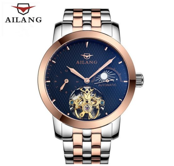 Luxury AILANG Brand Men Tourbillon Automatic Watches Self-wind