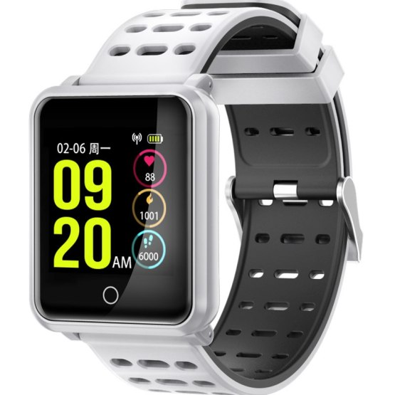 "Smart Watch Bluetooth Fitness IP68 Waterproof 1.3"" Color Screen Watch"