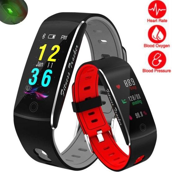 Fitness Smart Watch Men Women Heart Rate Monitor Blood Pressure