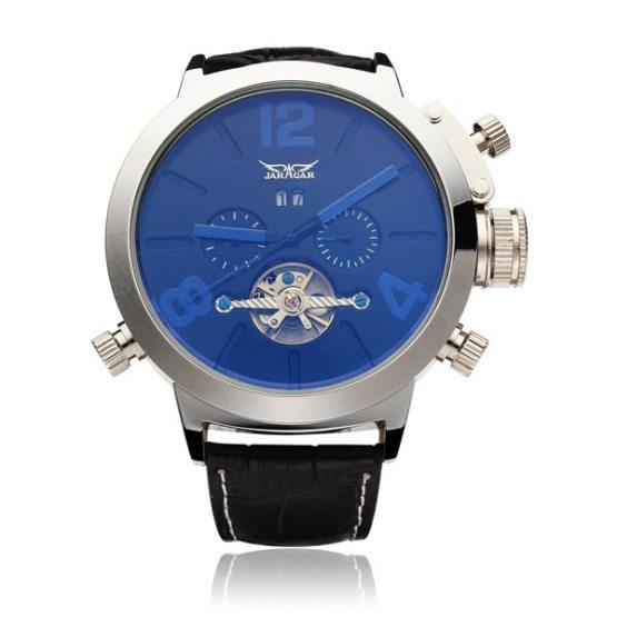 JARAGAR Brand Luxury Automatic Mechanical Fashion Flywheel Men Wrist Watch
