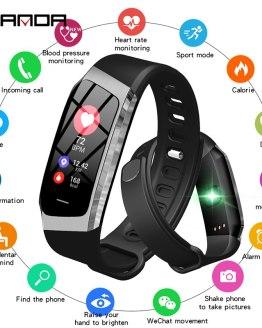 Smart Watch Waterproof Heart Rate Monitor Blood Pressure Smartwatch