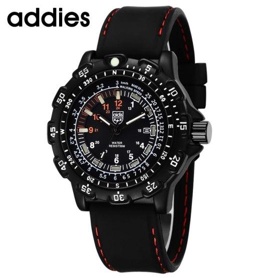 Mens Watch Quartz Analog Hand Luminous Dial Display Casual Wrist Watches