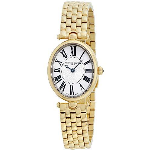 Frederique Constant Women's Art Deco Swiss Quartz Gold Watch