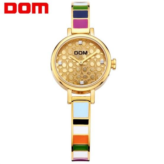 DOM women watches luxury brand quartz wrist watch fashion casual