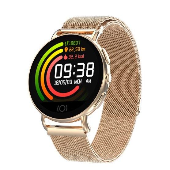 GIMSR New Smart Watch Men Women Heart Rate Monitor Blood Pressure