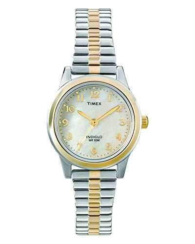 Timex Women's Essex Avenue Two-Tone Stainless Steel Expansion Band Watch