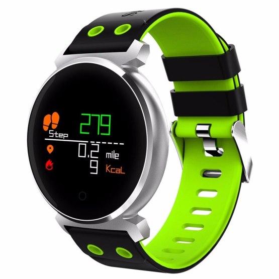 K2 Round Bluetooth Smartwatch IP68 Waterproof Heart Rate/Blood Watches