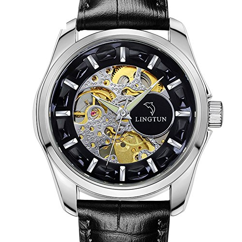 QWERTYUIOP Men Mechanical Watches/Style Luminous Watch-E