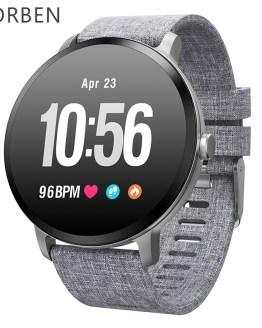 V11 Smart watch Men IP67 Waterproof Tempered Glass Activity Fitness Tracker