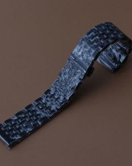 20 22 Black Stainless Steel Bracelet Wrist Band Watch