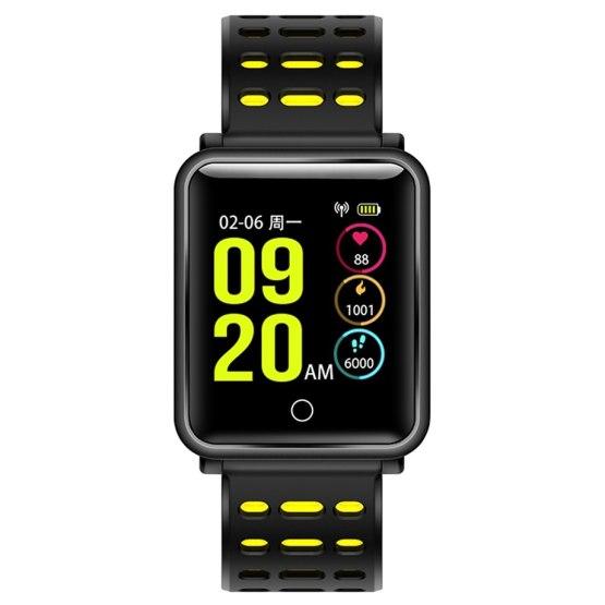 New Fashion N88 Waterproof Blood Pressure Heart Rate Sleep Monitor
