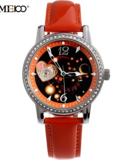 TIME100 Ladies New Fashion 12 Constellation Leo Automatic Mechanical Watches