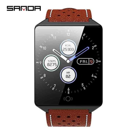 SANDA Bluetooth Smart Watch Men Waterproof IOS Android Watches