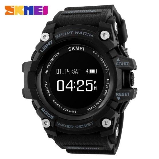 SKMEI Smart Watches Men Bluetooth Heart Rate Top Brand Sport