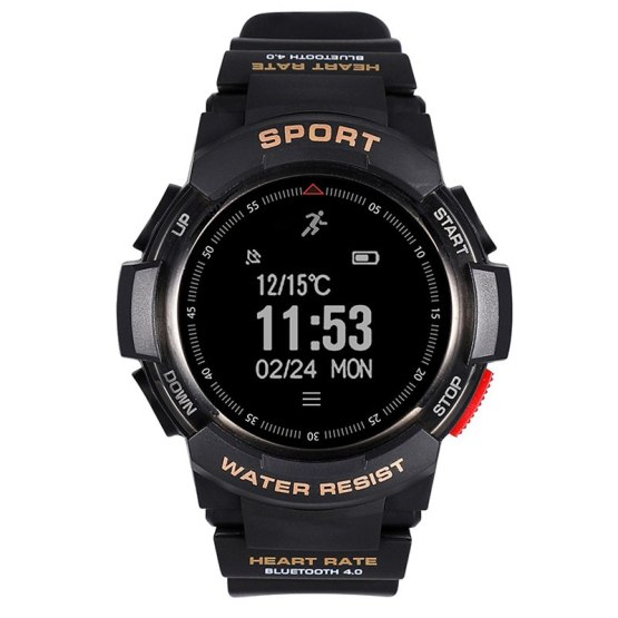 Sports GPS Smart Watch Men Heart Rate Monitor Fitness IP68 Waterproof