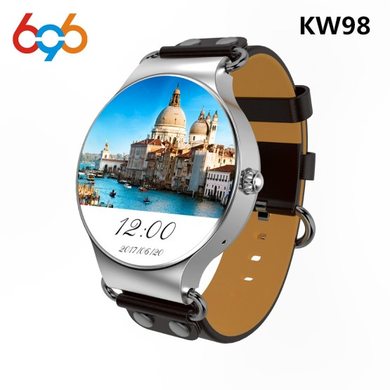 696 KW98 Smart Watch Android 5.1 8GB/512MB Wifi GPS Bluetooth