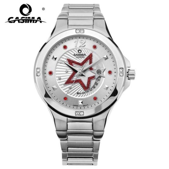 CASIMA Luxury Brand Watches Women Fashion Casual Crystal Women's Quartz