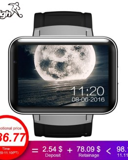 2018 Men Watches Android OS MT6572A Smart Watch phone support