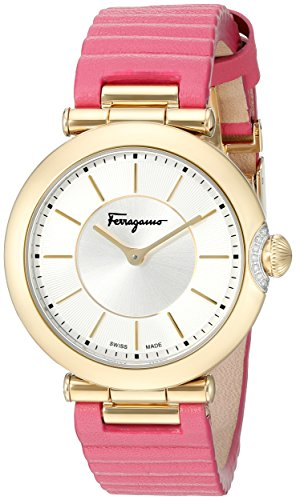 Salvatore Ferragamo Women's Style Analog Display Quartz Pink Watch