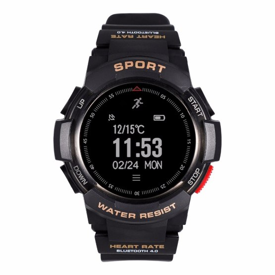 OGEDA Smart Men Watch Sports F6 Smartwatch GPS Watch