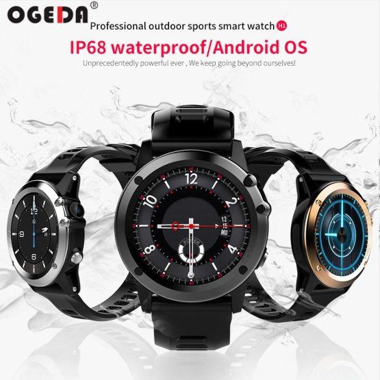 OGEDA 2019 H1 Smart Watch Android 4.4 Waterproof