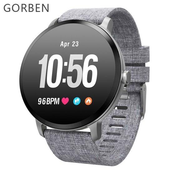 Smart watch Men V11 Waterproof IP67 Tempered glass Activity Fitness