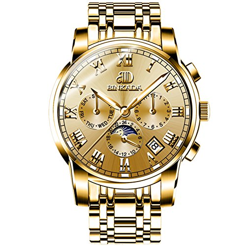 QWERTYUIOP Men Mechanical Watches/Waterproof Luminous