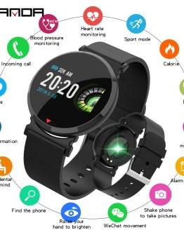 SANDA Smart Watch Men Women Fitness Tracker Bluetooth