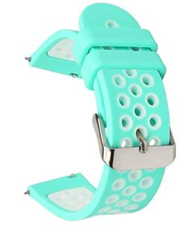 Universal 18mm 20mm 22mm 24mm Width Silicone Watch Band Replacement