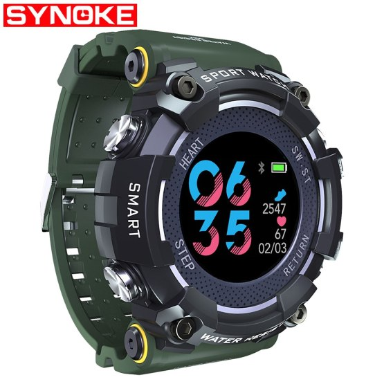 PANARS Smart Watch Bluetooth Digital Men Professional Clock