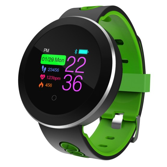 Touch Screen Smart Reminder Fitness Tracker Silicone Men Women Smartwatches
