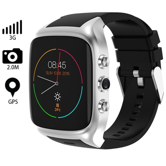 Smart Watch Men Bluetooth Wristwatch Android GPS Wifi 3G SIM Card