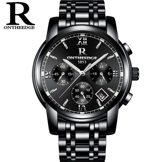 RONTHEEDGE Watch Men Watches Top Brand Luxury Famous Wristwatch