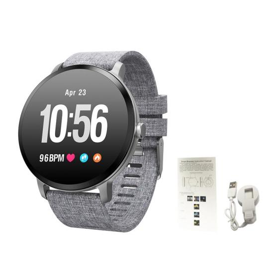 New Arrive V11 Smart Watch IP67 Waterproof Tempered Glass Activity