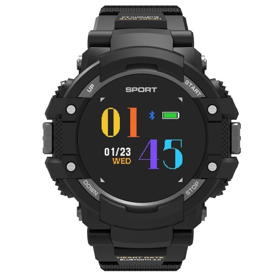 Bluetooth 4.0 Smart Watch Men Compass Sports LED Touch GPS