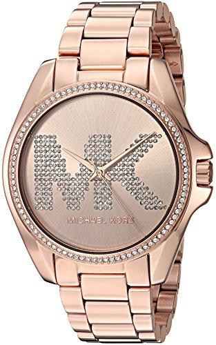 Michael Kors Women's Bradshaw Rose Gold Tone Stainless Steel Watch MK6556