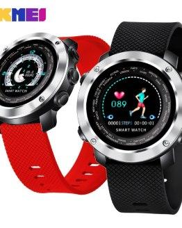 SKMEI Color Screen Smart Watch Men Women Dynamic Heart Rate